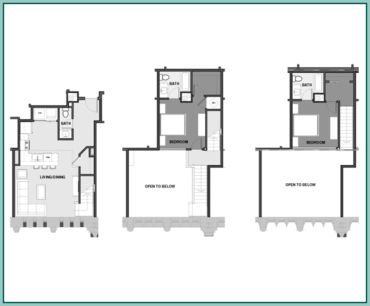 Multilevel Floor Plan